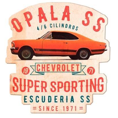 Placa de Parede em Madeira Opala