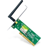 Placa de Rede - Wireless - Pci - Tp-Link N150 - Tl-Wn751nd