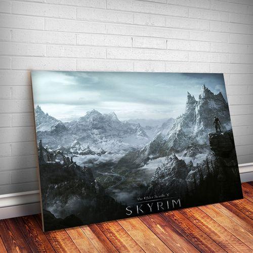 Tudo sobre 'Placa Decorativa Skyrim 4'