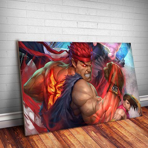Placa Decorativa Street Fighter 1