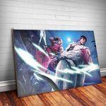 Placa Decorativa Street Fighter 2
