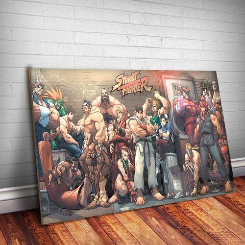 Placa Decorativa Street Fighter 3