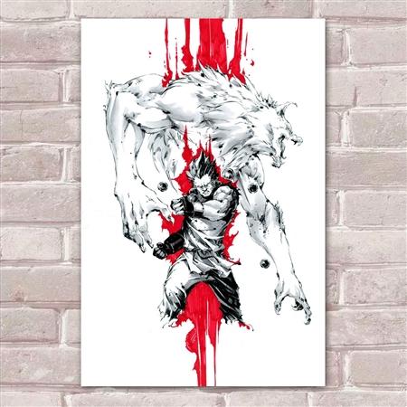 Placa Decorativa Street Fighter 33