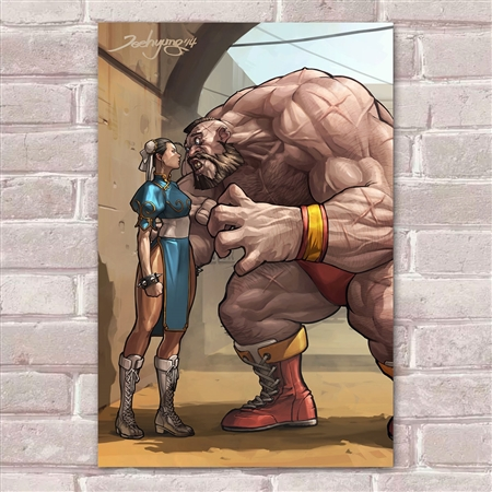Placa Decorativa Street Fighter 41