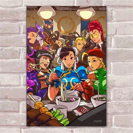 Placa Decorativa Street Fighter 45