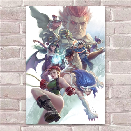 Placa Decorativa Street Fighter 35
