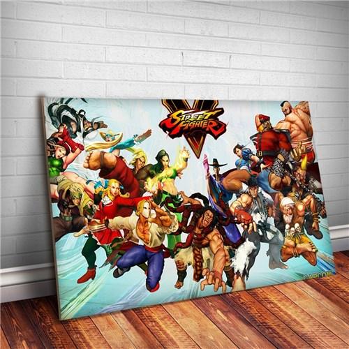 Placa Decorativa Street Fighter 6