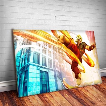Placa Decorativa Street Fighter 7