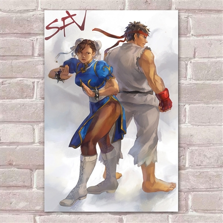 Placa Decorativa Street Fighter 37