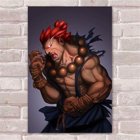 Placa Decorativa Street Fighter 38