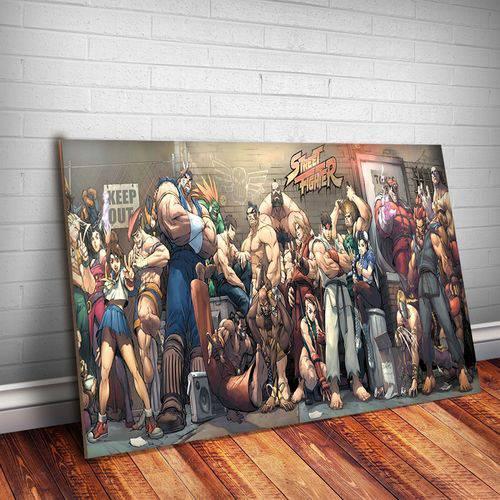 Placa Decorativa Street Fighter 9