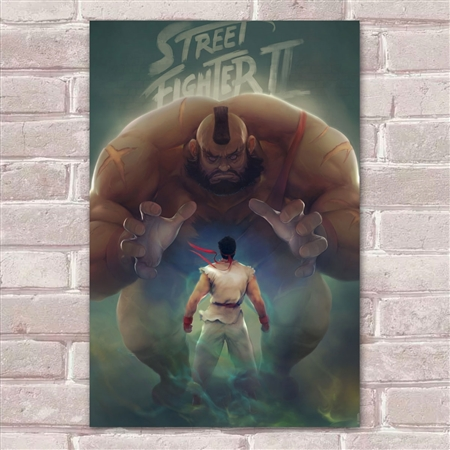 Placa Decorativa Street Fighter 29