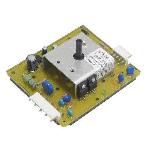 Tudo sobre 'Placa Eletrônica Potência Lavadora Electrolux Lte06 64502027 Bivolt'