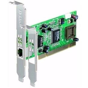 Placa Rede Gigabit Pci 10/100/1000 Dge-528t Windows MAC Linux + Perfil Baixo