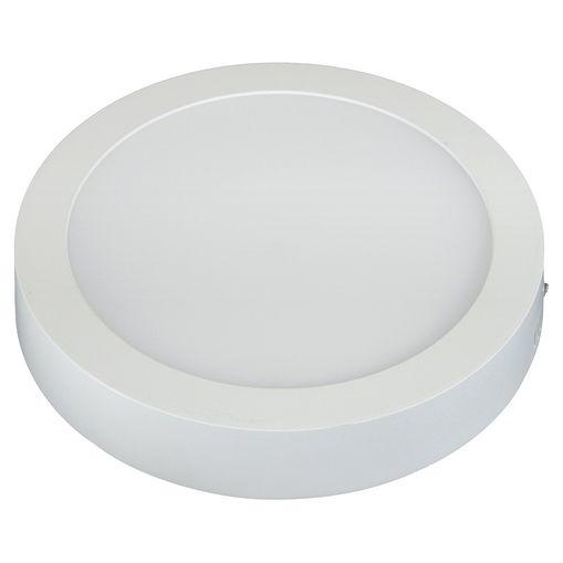 Tudo sobre 'Plafon LED de Sobrepor 3000K Branco 18W Redondo 22m Taschibra'