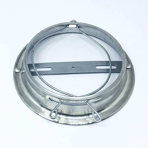 Plafonier Base Suporte em Aluminio para Globo de Teto Boca 10cm SBP