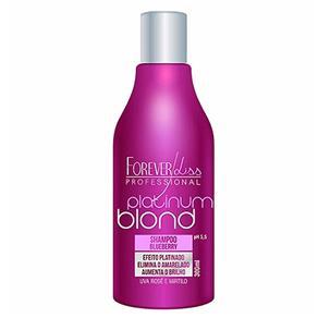 Platinum Blond Forever Liss - Shampoo Matizador - 300ml - 300ml