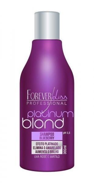 Platinum Blond Forever Liss Shampoo Matizador 300ml
