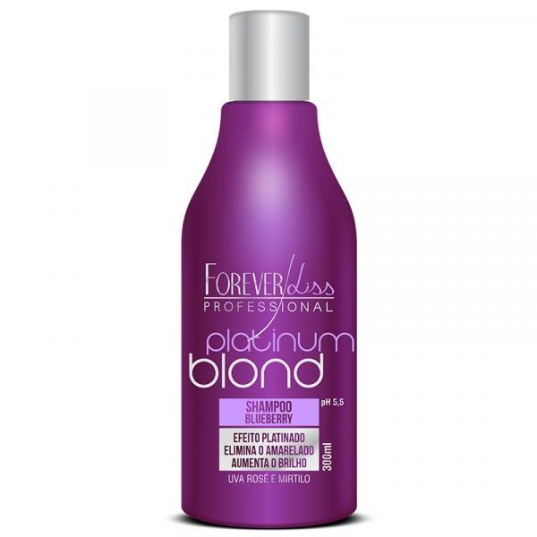 Platinum Blond - Shampoo Matizador Blueberry 300ML - Forever Liss