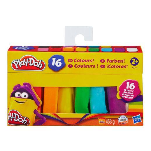 Play Doh Conjunto 16 Cores - Hasbro