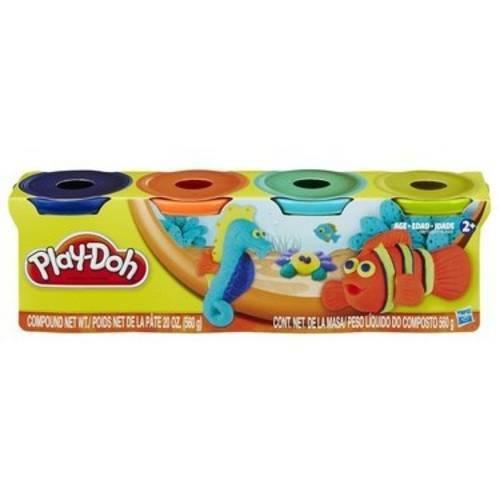 Play Doh Conjunto 4 Cores - Hasbro