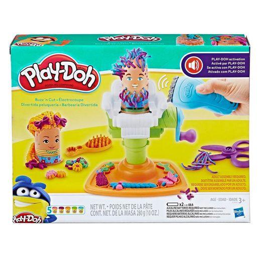 Play Doh Conjunto Barbearia Divertida - Hasbro
