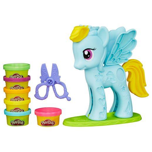 Tudo sobre 'Play Doh Conjunto My Little Ponei e Penteados - Hasbro'