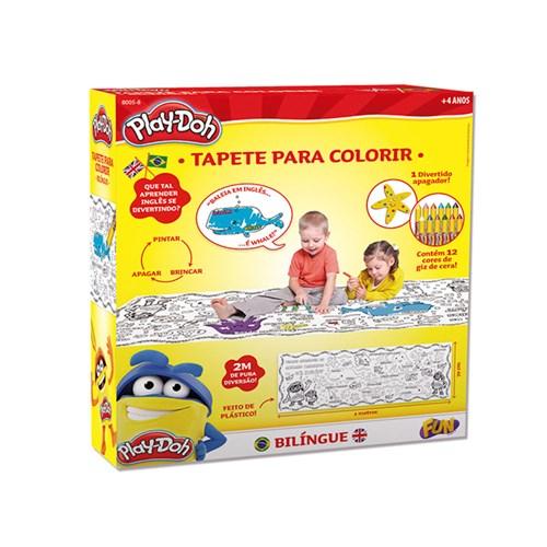 Play Doh Tapete Colorido - Fun Divirta-Se - Play Doh Tapete Colorido - Fun Divirta-Se