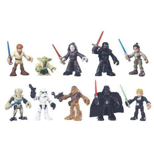 Tudo sobre 'Playset com Figuras - Playskool Galactic Heroes - Disney Star Wars - Hasbro'