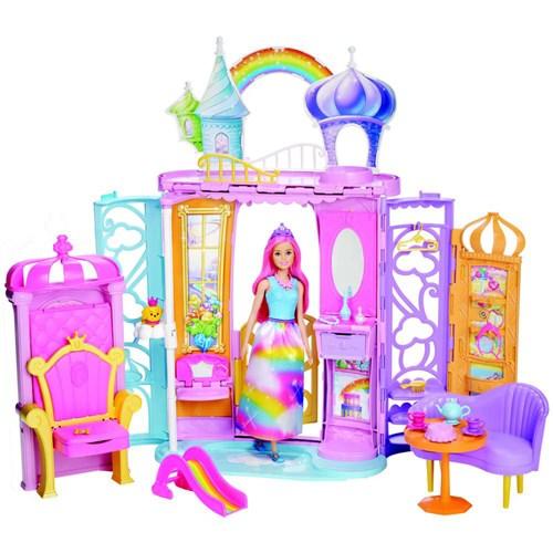 Playset e Boneca - Barbie - Dreamtopia - Castelo Arco-Íris - Mattel