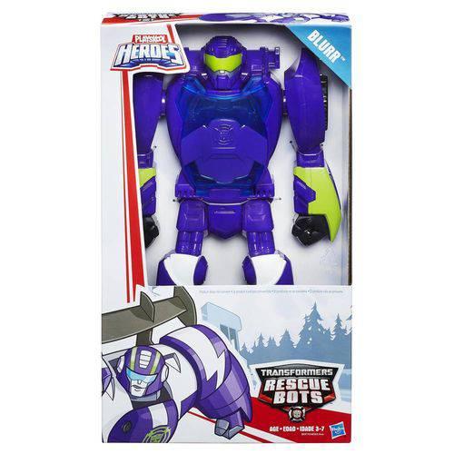 Playskool Tranformers Rescue Bots 12 Roxo- Hasbro