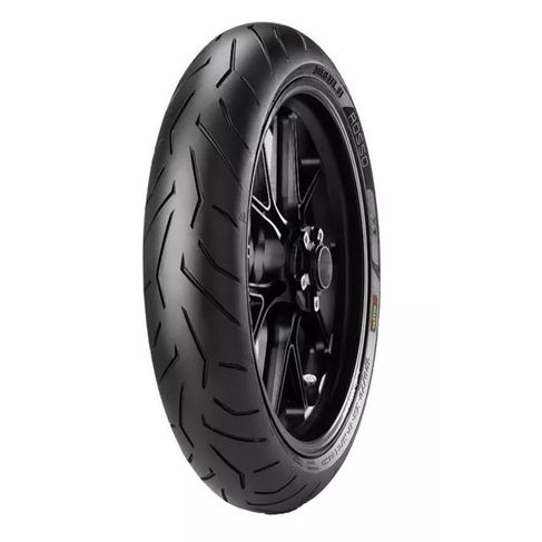 Tudo sobre 'Pneu Pirelli Diablo Rosso II 120-60-17 ZR 55W TL Dianteiro'