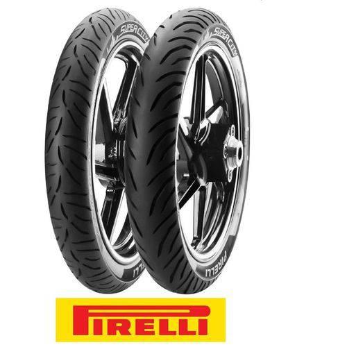 Tudo sobre 'Pneu Pirelli Super City 90/90 - 18 51p Traseiro'