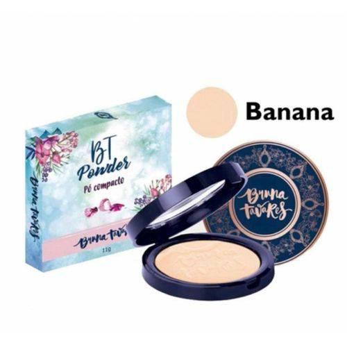Tudo sobre 'Po Compacto Bt Powder Banana Bruna Tavares'