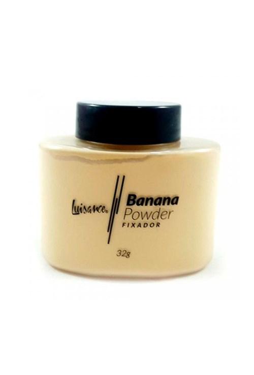 Pó Facial Banana Powder Fixador L9013 Luisance