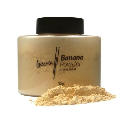 Pó Fixador Solto Banana Powder Luisance