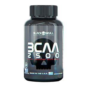 Bcaa 2500 - 60 Tabletes - Black Skull - SEM SABOR - 60 TABLETES
