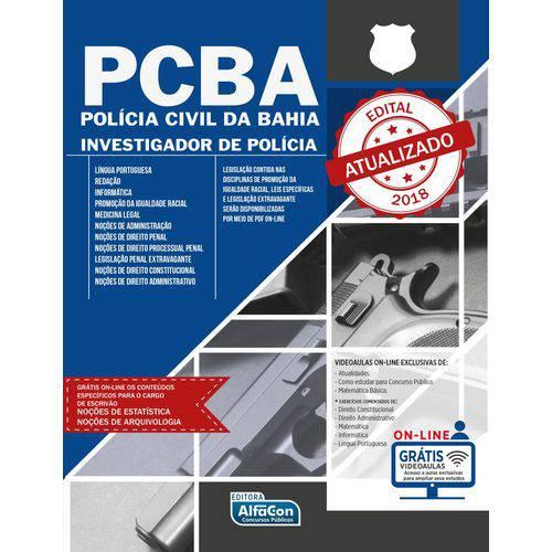 Tudo sobre 'Polícia Civil da Bahia - Investigador de Polícia - PC Ba'