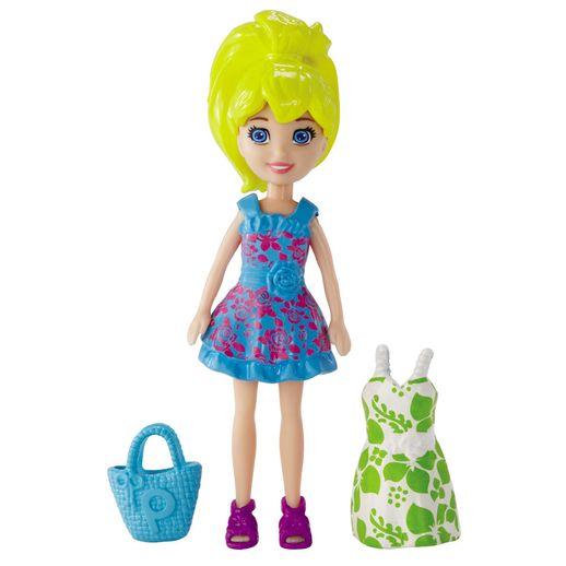 Tudo sobre 'Polly Pocket Boneca e Vestidinho Polly - Mattel'