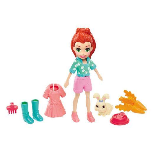 Tudo sobre 'Polly Pocket Lila com Bichinho - Mattel'