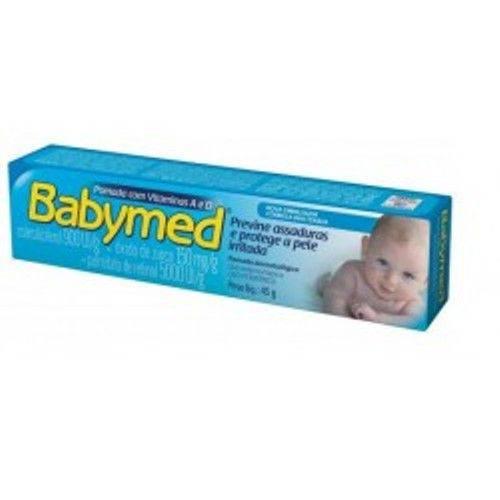 Tudo sobre 'Pomada para Assadura Babymed Azul 45g'