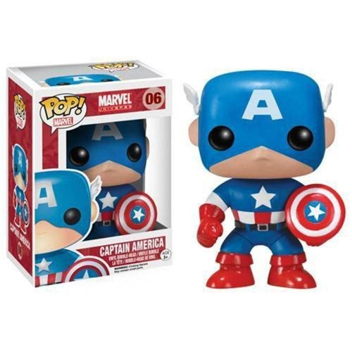 Pop Captain America: Marvel Universe #06 - Funko
