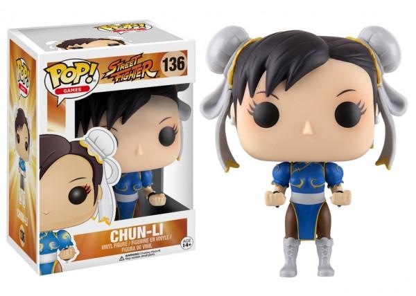 Pop Funko 136 Chun Li Street Fighter