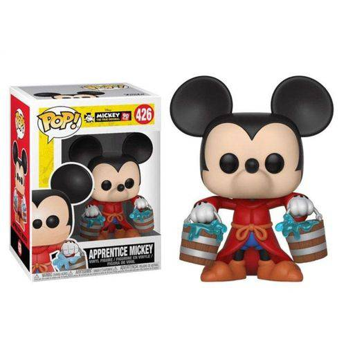 Tudo sobre 'Pop Funko 426 Apprentice Mickey 90 Years'