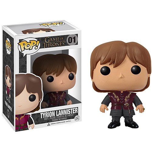 Pop Tyrion Lannister: Game Of Thrones 01 - Funko