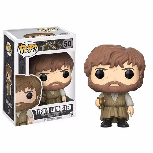 Pop Tyrion Lannister: Game Of Thrones #50 - Funko