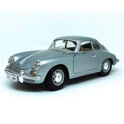Tudo sobre 'Porsche 356B Coupe 1961 Prata 1:18 Burago Minimundi.com.br'