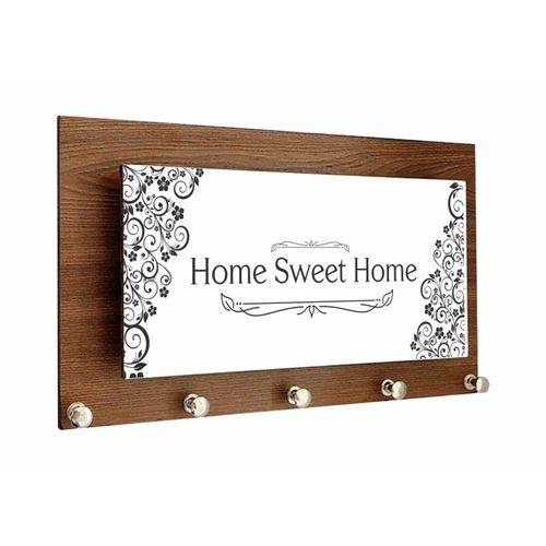 Tudo sobre 'Porta Chave Home Sweet Home'