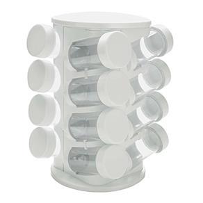 Porta Condimentos Mimo Style com 16 Peças Branco