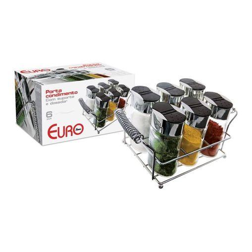 Tudo sobre 'Porta Condimentos Nuna 6 Peças Euro OSG-6PCS'